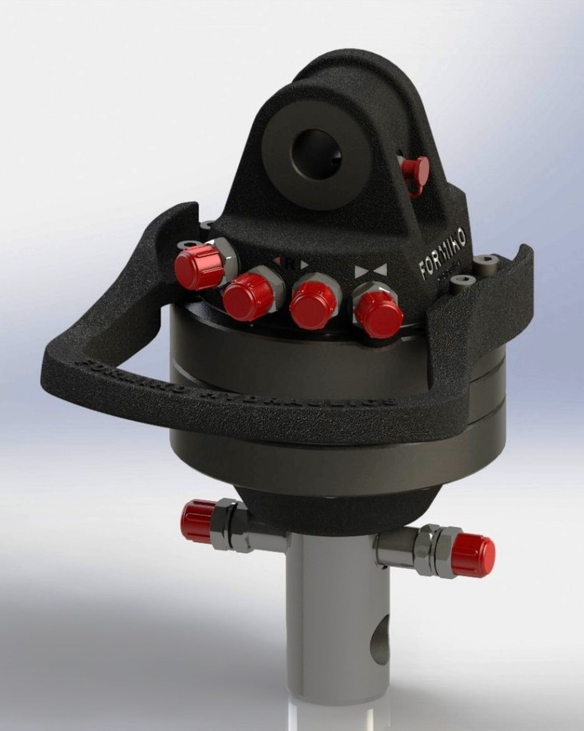 Formiko HYDRAULICS FHR 3.000-L(v2) 3 ton rotator is one of most popular rotator in world . Our Formiko Hydraulics Rotator is a better alternative for  rotator Indexator,  rotator Baltrotors GR30, Rotator INDEXATOR GV3, FINN ROTOR
