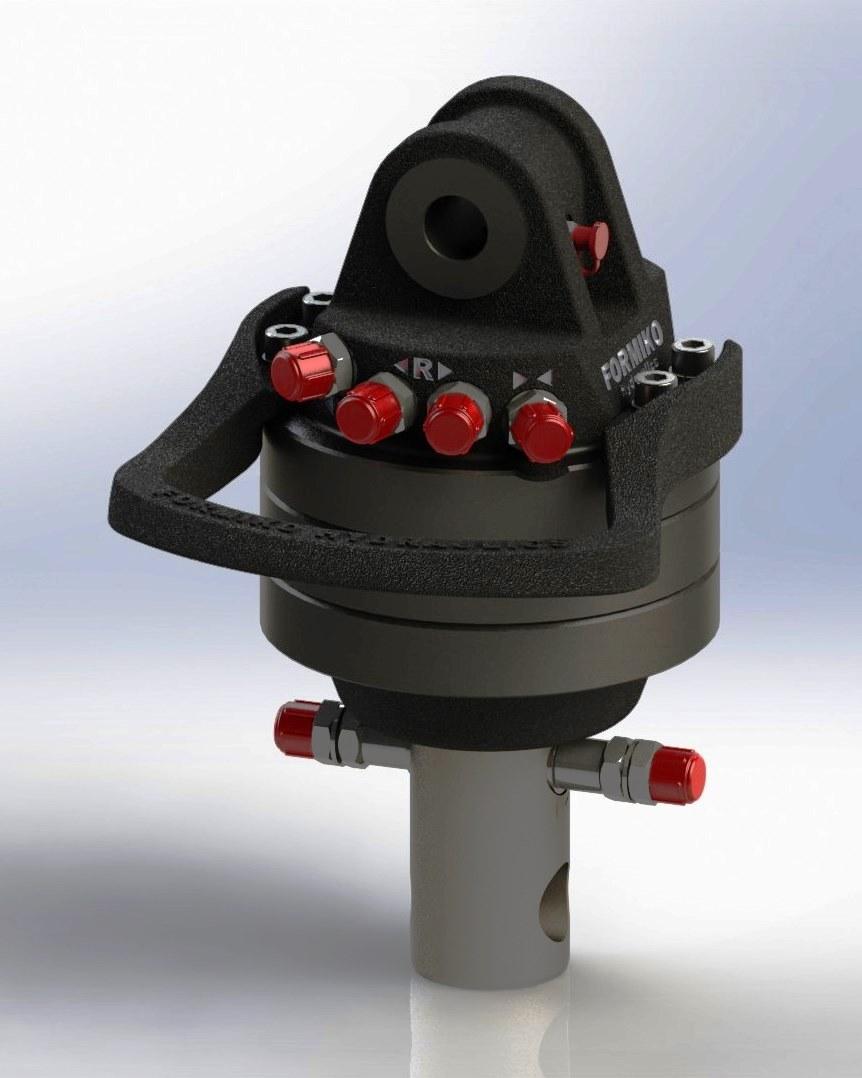Rotator 4.500L 68 grapple for scrap  rotator for scrap rotator for crane