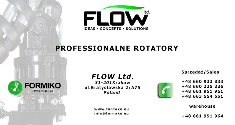 Rotator Formiko, Rotator Baltrotors, Rotator Indexator, Hydrauliczny Rotator