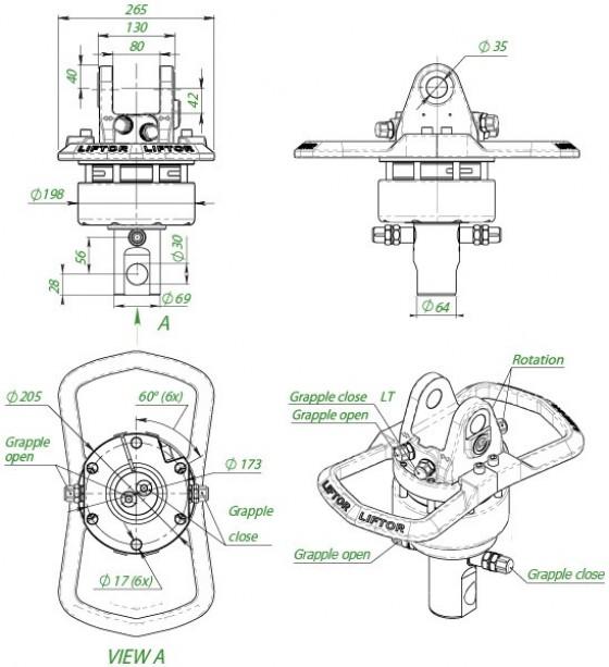 Rotator formiko_ltr-600l-69