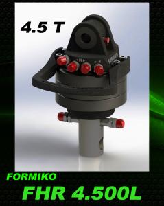 Profesjonalny rotator hydrauliczny formiko FHR 4500 L -rotatory hydrauliczne szeroki wybór Rotator HDS