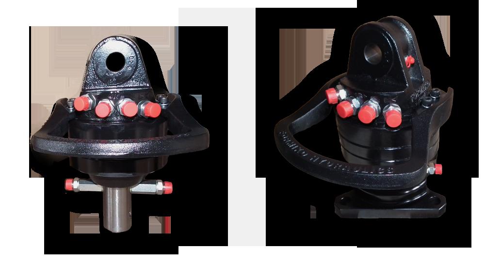 Rotator formiko z czpieniem i flanszą rotatory hydrauliczne 3 tonowe