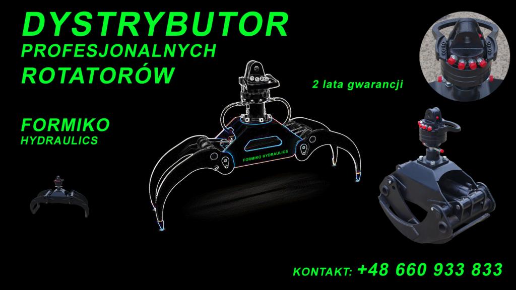 Rotator 3 tonowy , rotatory hydrauliczne, profesjonalne rotatory rotator do żurawia, rotator do chwytaka