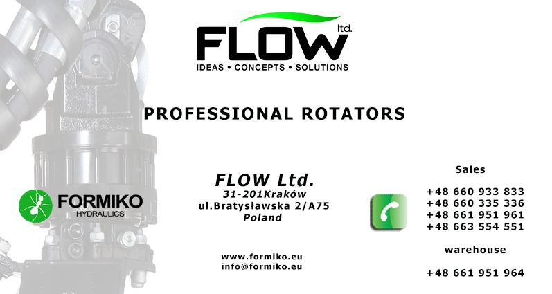 Formiko Kontakt, Proffesional rotator hydraulic rotator